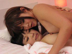 【姉妹レズ動画】ロリJKな妹をビアンな美人JDのお姉ちゃんが夜這いし近親相姦レズSEX