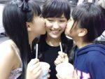 【キスレズ動画】実はレズビアンだった!?国民的な美少女アイドル同士のキス動画集!