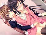 【姉妹レズ動画】女オタのレズビアン姉妹がコスプレ姿で着衣SEXする百合物のエロゲー
